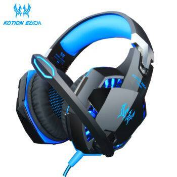 Headset Wired Game Earphones Gaming Headphones Deep bass Stereo Casque with Microphone for PS4 PC Laptop gamer