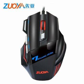 5500 DPI Gaming Mouse 7 Button LED Optical Wired USB Mouse Silent/sound For PC Computer Pro Gamer