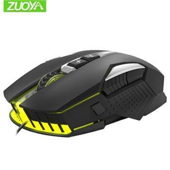 Gaming Mouse DPI adjustable LED bright wired Optical USB For PC Computer Laptop professional