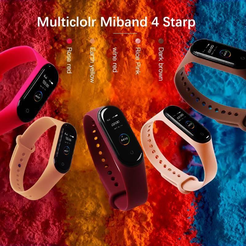 Xiaomi mi Band 4 strap silicone replacement