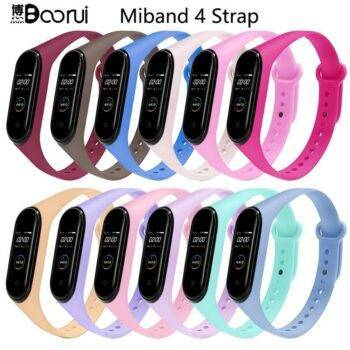 Xiaomi mi Band 4 strap silicone replacement
