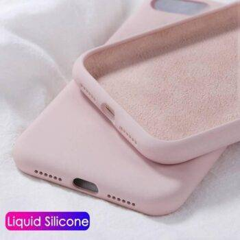 Luxury Original Liquid Silicone Case For Apple iPhone 11 Pro Max 7 8 6 6S Plus 5 5S SE X XS MAX XR 11 Case Shockproof Back Cover