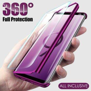 Luxury 360 Full Cover Case For Samsung Galaxy A51 A50 S9 S8 S10 Plus A71 Shockproof Cover For Samsung Note 10 8 9 S7 Edge Case