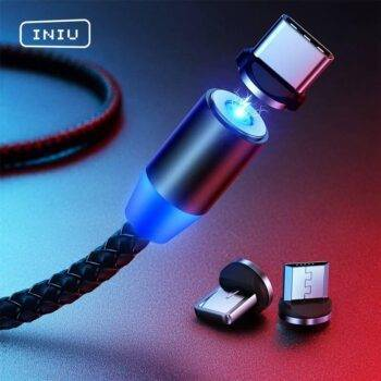 Magnetic Cable Type-c Micro USB Fast Charging Cord for iPhone 11X Huawei