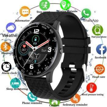 Full Touch Watch Smart Watch Blood Pressure Fitness Tracker