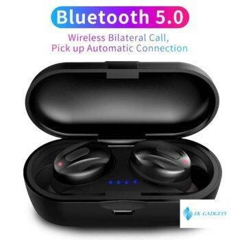 TWS V5.0 Bluetooth Earphones Sport Wireless Earbuds Handsfree Bluetooth Earphone Stereo Dual Headset For iPhone All Smartphone
