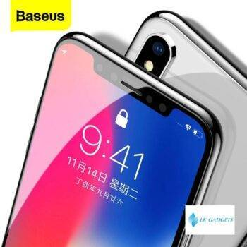 Baseus 0.3mm Screen Protector Tempered Glass For iPhone 11 Pro Xs Max X Xr SE 2020 Cover Protective Glass For iPhone 11Pro Max