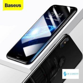 Baseus Front Back Tempered Glass For iPhone X 10 Screen Protector Full Body Film Scracth-Proof Protective Film Glass For iPhoneX