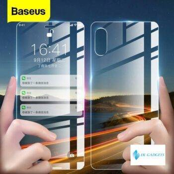Front Back Glass Screen Protector For iPhone Xs Max XR Tempered Glass For iPhoneXs Max Protective Glass Rear Film Cover