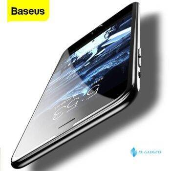 Baseus 0.23mm Screen Protector Tempered Glass For iPhone 8 7 6 s 6s Plus 3D Soft Edge Narrow Side PET Full Cover Thoughened Film