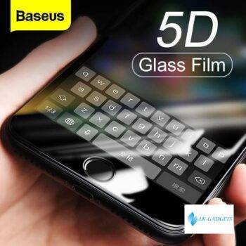 5D Screen Protector Tempered Glass For iPhone 8 7 Plus Full Cover Protective Toughened Glass Film For iPhone 8plus 7plus
