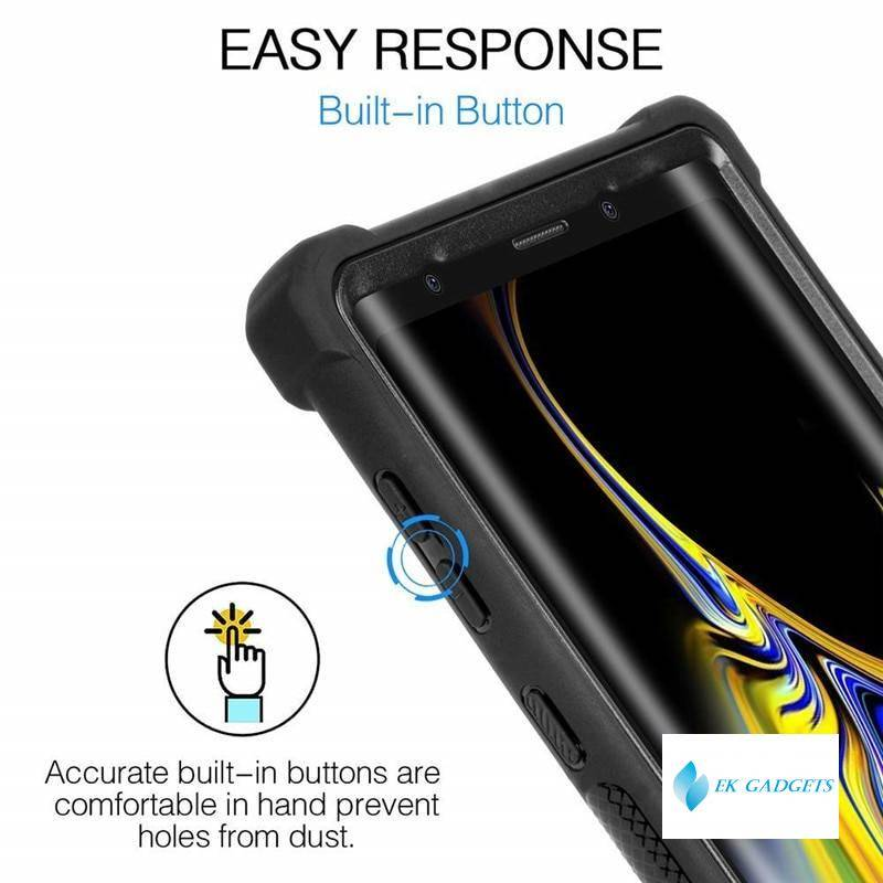 Heavy Duty Protection PC+TPU Clear Case for Samsung Galaxy A50 A50S A70 A70S A81 A91 A51 A71 Shockproof Sturdy Cover