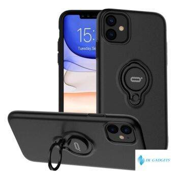 Anti-Scratch Shockproof Case for iPhone 11 Pro Max X XS XR XS MAX Cover with 360 Degree Rotation Ring Kickstand Car Magnetic