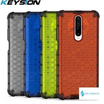 KEYSION Shockproof Case for Redmi K30 K30 Pro 5G K20 Note 8 Pro 8T 8A 7 Honeycomb Phone Cover for Xiaomi Mi 9T Mi 9 Lite CC9 Pro