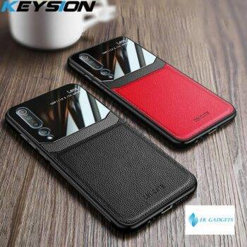 Shockproof Case for Xiaomi Mi 10 10 Pro Mi 9T Mi Note 10 Leather Glass Phone Cover For Redmi K30 K20 Note 8 Pro 8 8T 8A
