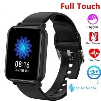 Full Touch Smart Watch Custom Watch Wallpaper Fashion Fitness Tracker Ip68 Waterproof Sport