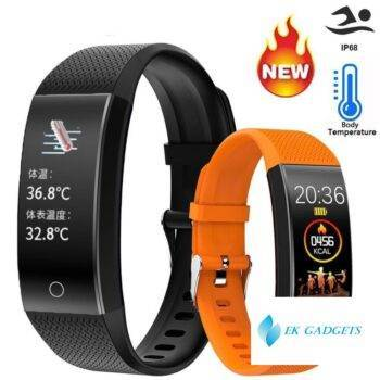 Smart Band Body Temperature Watch Fitness Tracker Bracelet