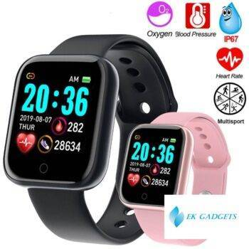 "Smart Watch 1.3"" Color Touch Screen Pedometer Fitness Tracker Watch Ip67 Waterproof"