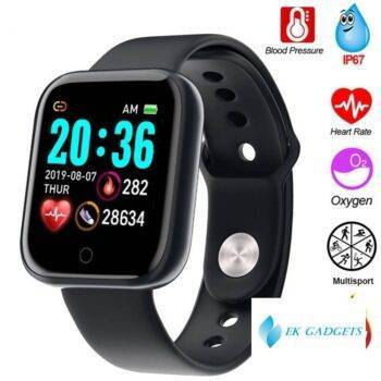 Smart Watch Electronic Blood Pressure Heart Rate Monitor Fitness Tracker Ip67 Waterproof