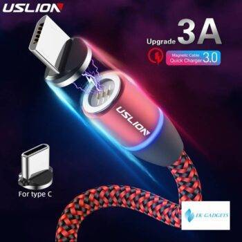 3A Magnetic Charger Micro USB Type C Cable Fast Charging Cord For iPhone 11 X Fast Charging For Samsung S10 S9 Redmi Note