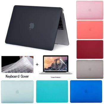 2020 New A2289 Laptop Case For Apple Macbook Air 13 A1932 A2179 Case Pro 11 12 15 in touch bar id For Macbook Pro 16 A2141 Cover