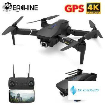Eachine E520S Drone 4K Profesional RC Quadcopter Racing GPS MINI Dron 5G WIFI Wide Angle HD FPV Camera Foldable Helicopter Toys
