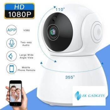 SDETER 1080P 2MP Home Security IP Camera Wireless WiFi Camera WI-FI CCTV Surveillance Two Way Audio IR Night Vision Baby Monitor