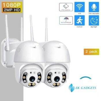 SDETER 1080P PTZ Security Camera IP Outdoor Speed Dome Wireless WIFI Camera CCTV Pan Tilt 4XZoom IR Camera exterior