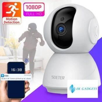 SDETER 1080P Wireless CCTV Security Camera WiFi Camera IP Surveillance Night Vision Baby Monitor Motion Alarm Cloud P2P Camera