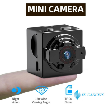 SDETER 720P Camera Mini Camera Camcorders Sport DV IR Night Vision Motion Detection Small Camcorder DVR Video Recorder Max 128G