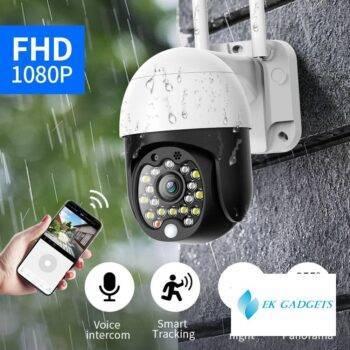 SDETER Security WIFI Camera Outdoor 1080P PTZ Speed Dome Wireless IP Camera CCTV Pan Tilt 4X Zoom Audio IR Surveillance P2P CAM